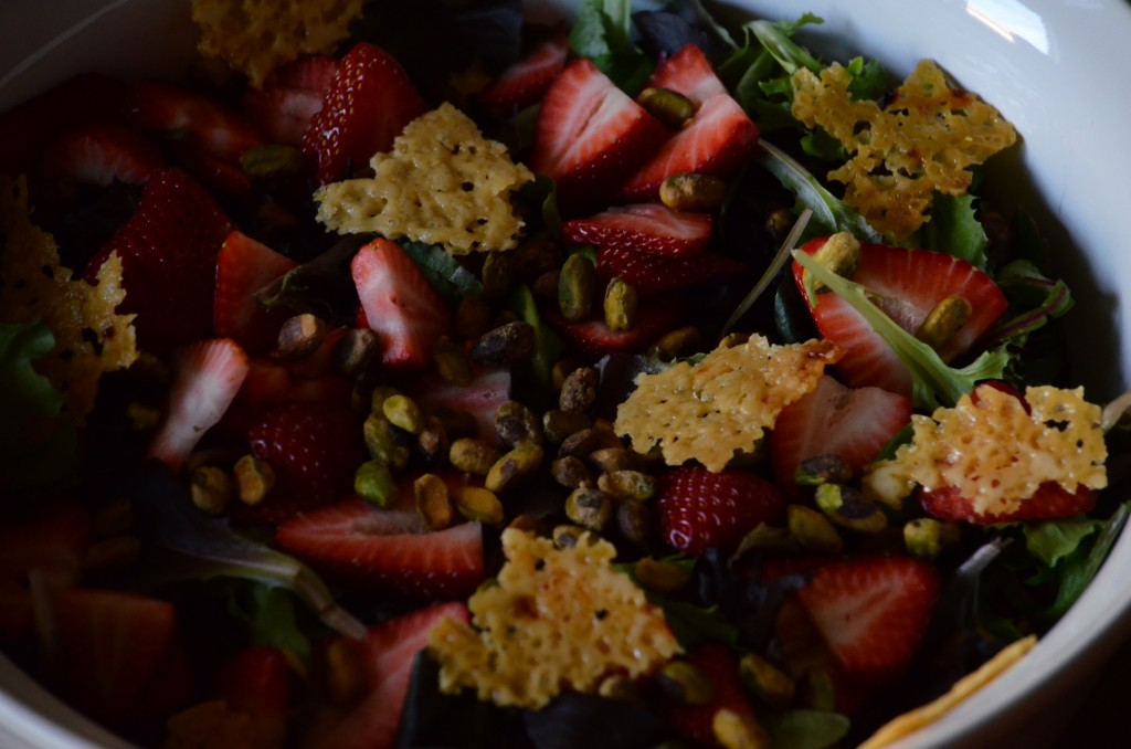 Strawberry Pistachio Salad