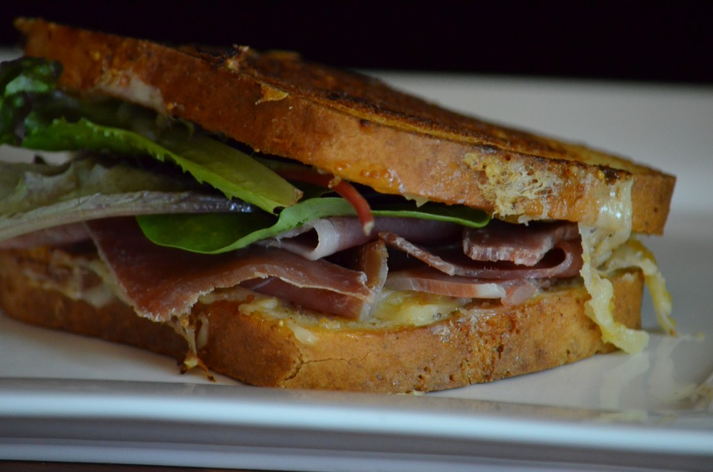 Fig and Prosciutto Sandwich