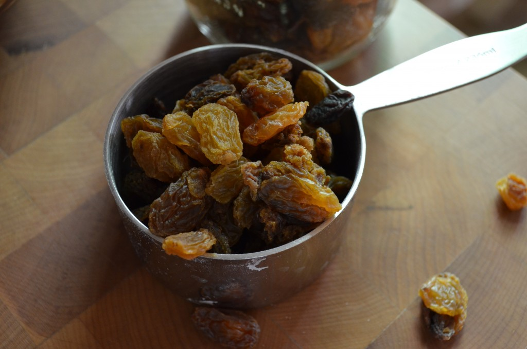 Golden Raisins: the only raisins worthy to be in the Kompromised Kitchen.